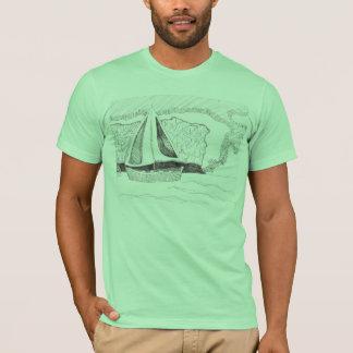 人の航行のワイシャツ Tシャツ