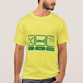 人の色T (、LiveJournalは食べて下さい、眠らせて下さい) Tシャツ