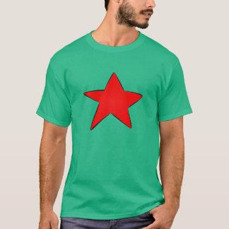 人の衝突のTシャツ Tシャツ