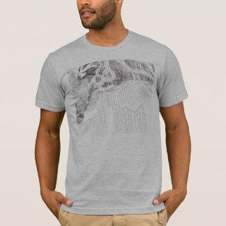 人の質のワイシャツ Tシャツ
