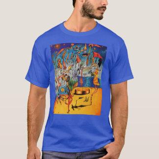 人の超現実主義的なティー Tシャツ