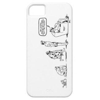 人の進化 iPhone SE/5/5s ケース