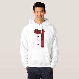 人の雪だるまの冬のクリスマスのワイシャツのフード付きスウェットシャツ パーカ