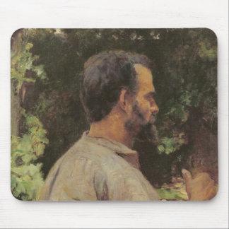 人の頭部、エチエンヌDevismes 1882年氏 マウスパッド