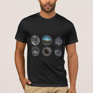 人の飛行楽器のTシャツ Tシャツ