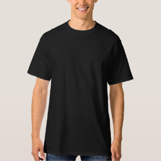 人の黒い高いHanesのTシャツ Tシャツ