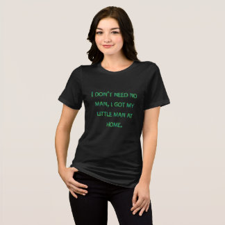 人の黒のジャージーの私の小さいワイシャツに悪戯して下さい Tシャツ