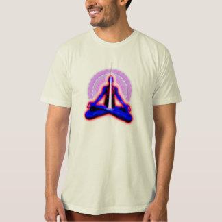 人の「平和管」のオーガニックなTシャツ Tシャツ
