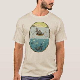 人のOcto管のTシャツ Tシャツ