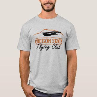 人のOSFCのロゴのTシャツ Tシャツ