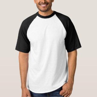 人のRaglanの野球のTシャツDIYは文字のイメージを加えます Tシャツ