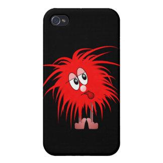 人のSpeckの毛深い赤毛の場合 iPhone 4 Cover