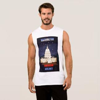 人のTシャツ袖なしのワシントン州XL 袖なしシャツ