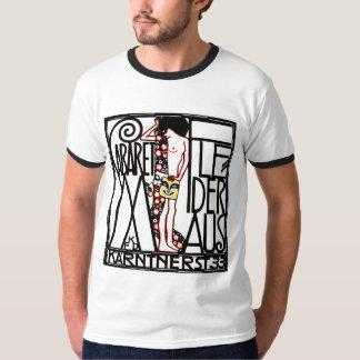 人のTシャツ: アールヌーボー-キャバレーFledermaus Tシャツ