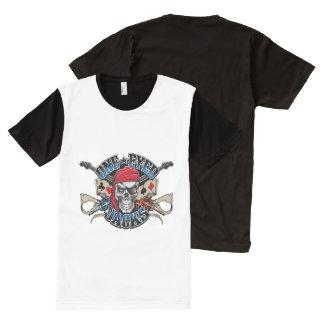 人のTシャツ オールオーバープリントT シャツ