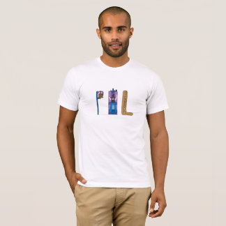 人のTシャツ フィラデルヒィア、PA (PHL) Tシャツ