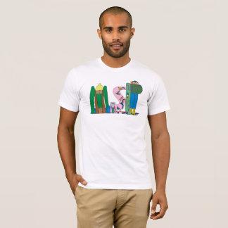 人のTシャツ|ミネアポリス、MN (MSP) Tシャツ