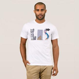 人のTシャツ|リスボン、PT (LIS) Tシャツ