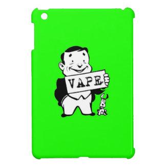 人のVapeのぽっちゃりしたレトロの緑 iPad Miniケース