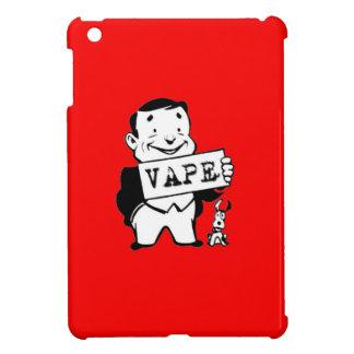 人のVapeのぽっちゃりしたレトロの赤 iPad Miniケース