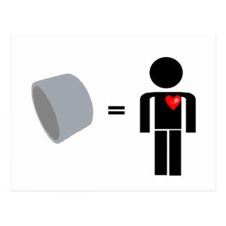 人はガムテープを愛します はがき