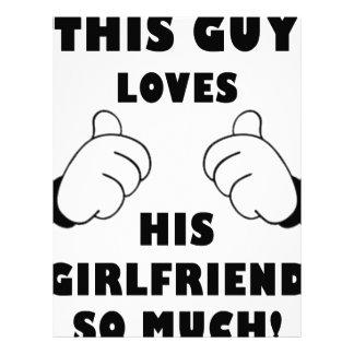 人はガールフレンドを愛します レターヘッド