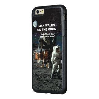 人は月の宇宙飛行士および地球で歩きます オッターボックスiPhone 6/6S PLUSケース