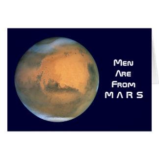 人は火星からあります-女性は金星からあります カード