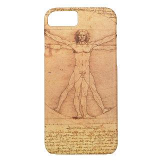 人体のレオナルド・ダ・ヴィンチの解剖学の勉強 iPhone 8/7ケース