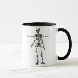 人体の図表のマグ マグカップ