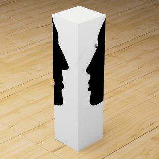 人及び女性のワイン用化粧箱 ワインギフトボックス