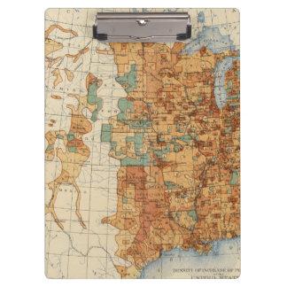 人口、米国、18901900の増加の25密度 クリップボード