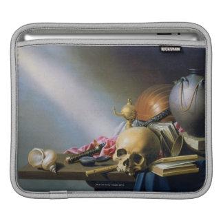 人命の虚栄心のアレゴリー iPadスリーブ
