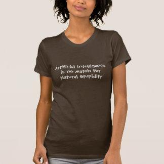 人工知能は自然にマッチ…ではないです Tシャツ