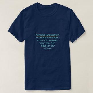 人工知能- MisterPのワイシャツ Tシャツ