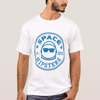 人搭載容積のヒップスターはロゴのティーを逆転させました Tシャツ