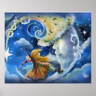 人月および魔法使い ポスター