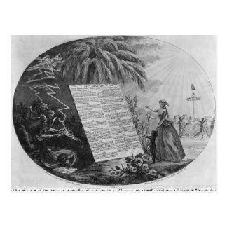 人権の宣言 ポストカード