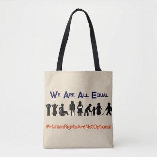人権の平等の不能の抗議のトートバック トートバッグ