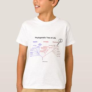 人生のの系統発生の木ここにいます(生物学) Tシャツ