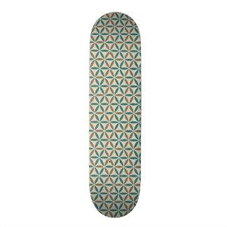 人生のスタンプパターン- BG 1の花 20CM スケートボードデッキ