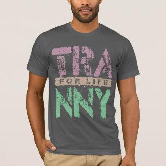 人生の信頼できる車伝達のためのTRANNY、プラム Tシャツ