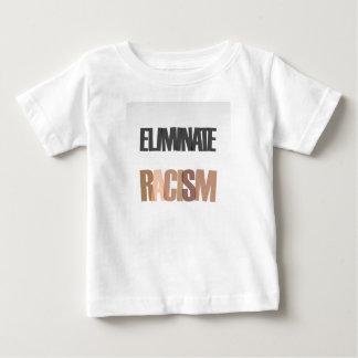 人種的優越感を除去して下さい ベビーTシャツ