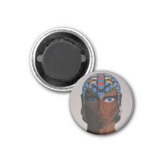 人間そっくりの男性のポートレートの磁石 マグネット