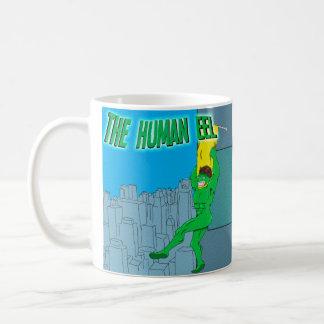 人間のウナギ コーヒーマグカップ