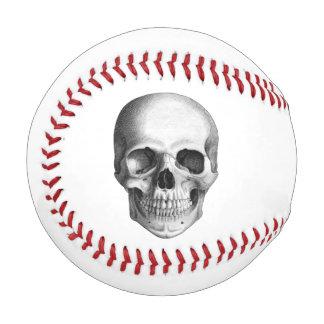 人間のスカルの野球 野球ボール