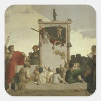 人間の喜劇、c.1852 スクエアシール