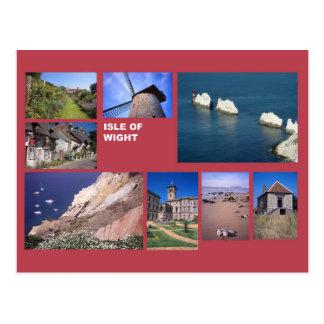 人間の数々のイメージの島 ポストカード