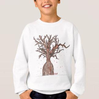 人間の桜の木 スウェットシャツ