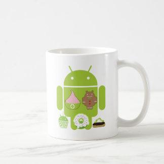 人間の特徴をもつ版 コーヒーマグカップ